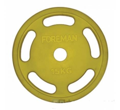 Диск E-Z Foreman Roezh FM\ROEZH-15KG\YL 15 кг