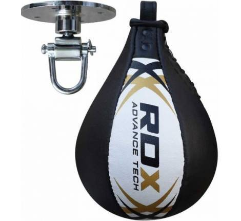 Пневмогруша RDX Leather White Pro